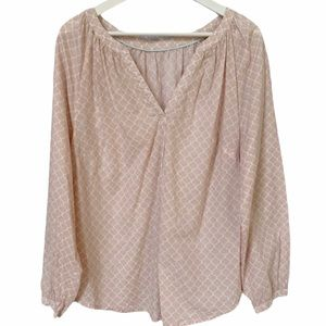 BODEN Long Sleeve Peasant Blouse